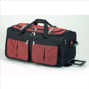 Athalon 15 pocket rolling duffle